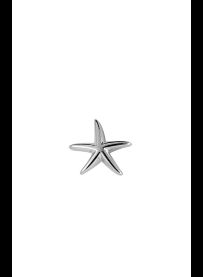 STARFISH PLATED EARRING