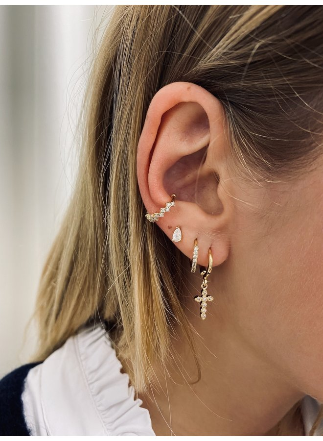 GLAMOUR PLATED EARCUFF