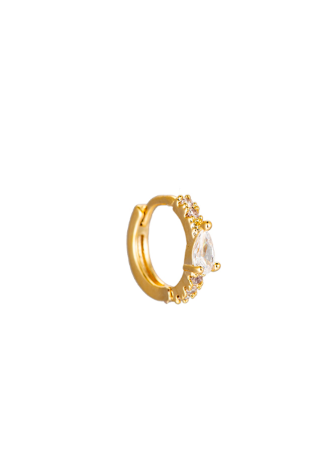 UMA PLATED EARRING - GOLD