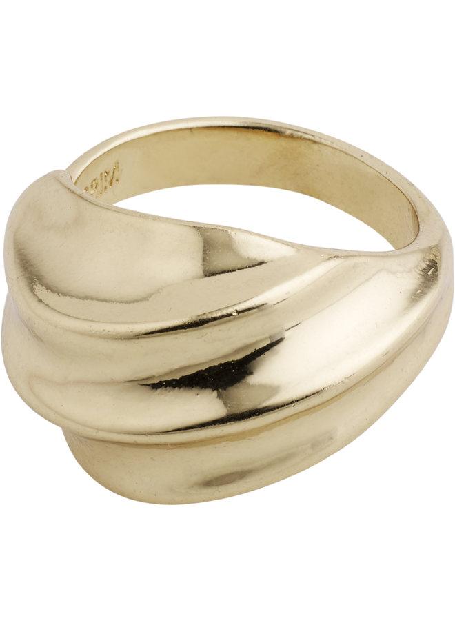 RING SAGI GOLD PLATED