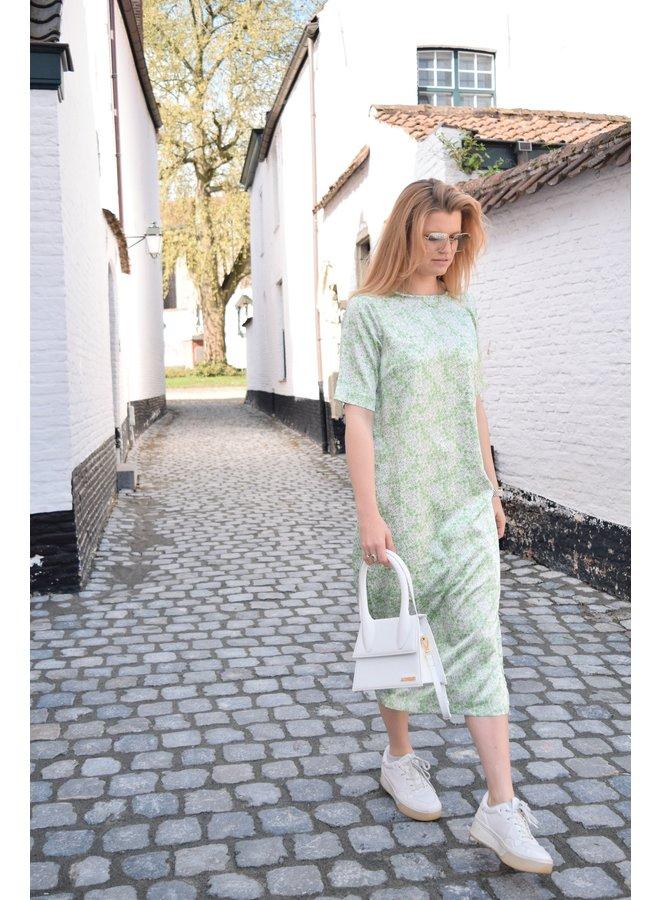 EARRI EBE DRESS - GREEN