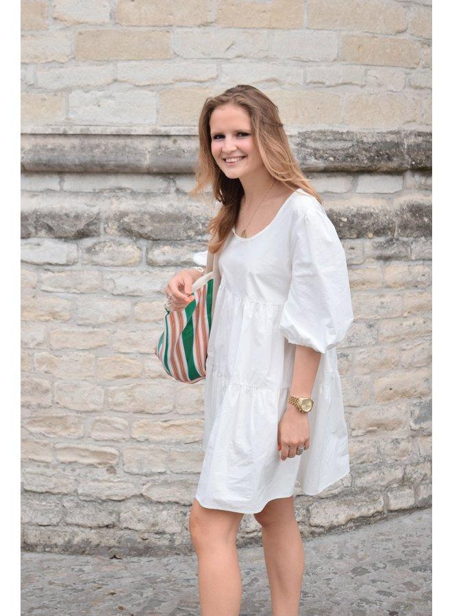 SUZE DRESS WHITE