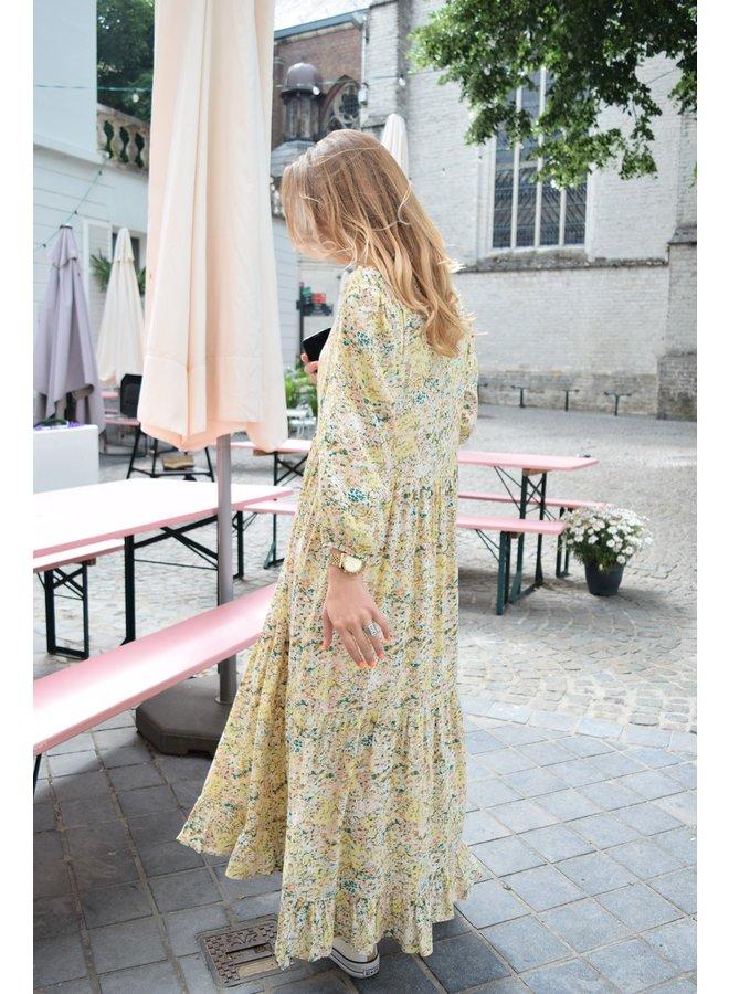 YASSTENCIL ANKLE DRESS