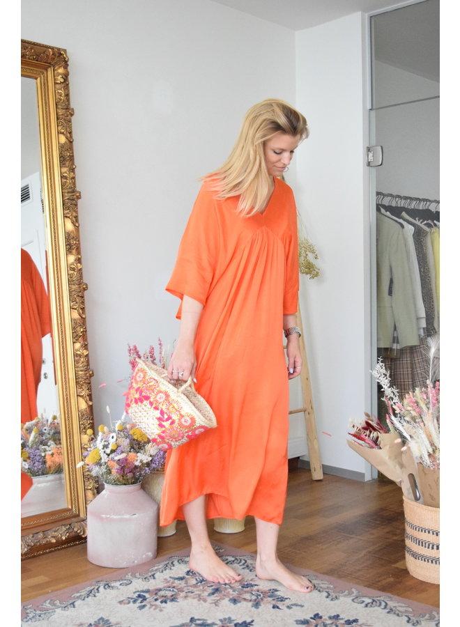 LUCILE SATIN DRESS