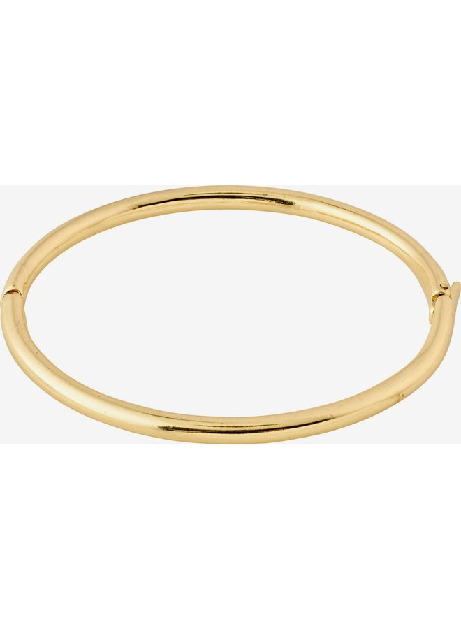 RECONNECT BANGLE BRACELET GOLD PLATED