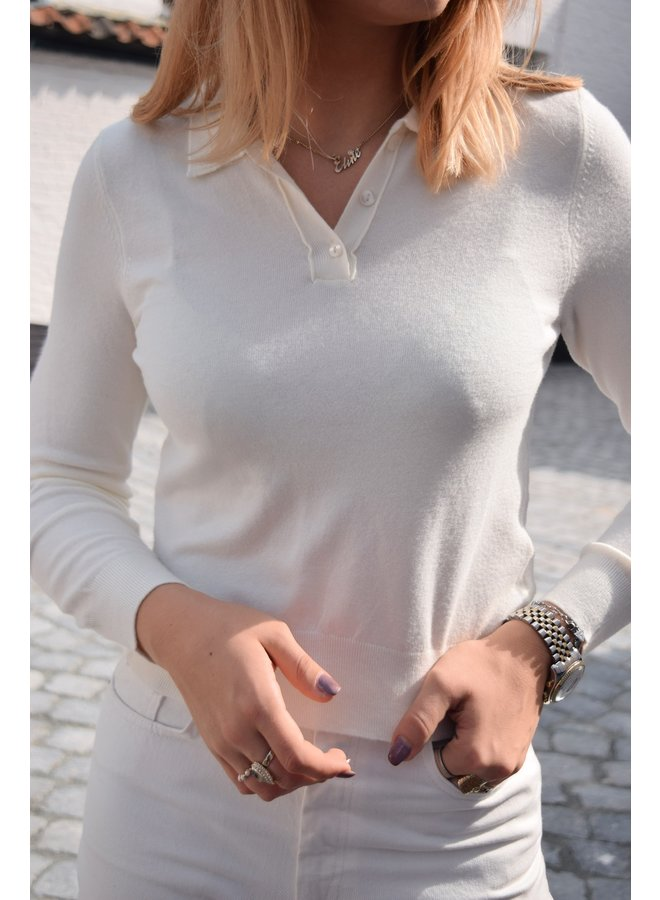 BUTTONED DETAIL SWEATER