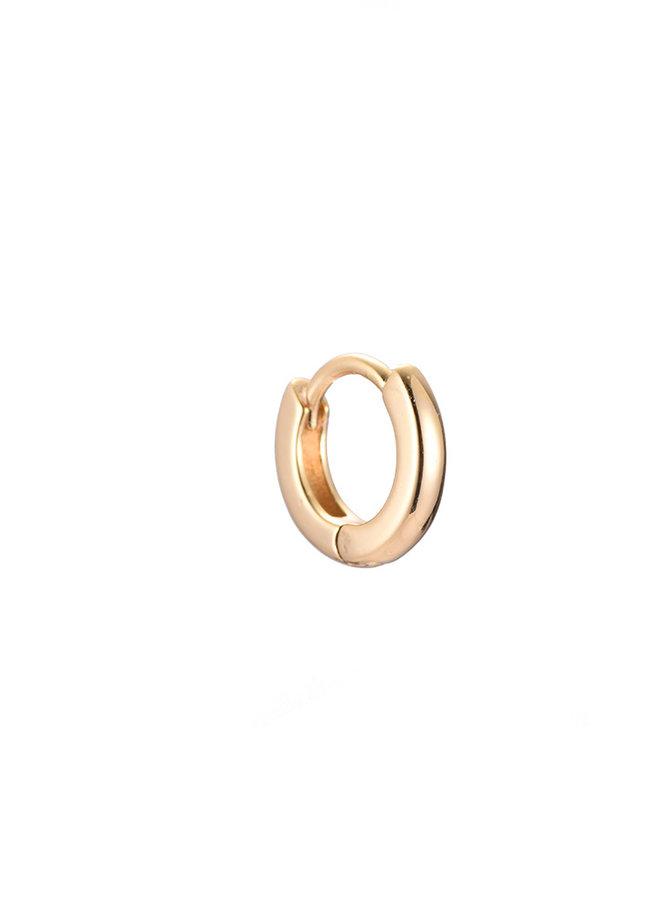 CLASSIC MINI HOOP - GOLD 8mm