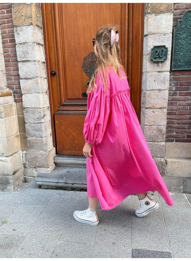 JULIA DRESS FUCHSIA
