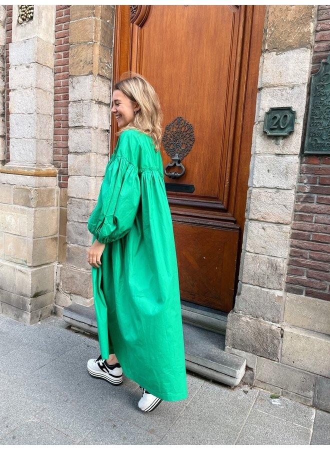 JULIA DRESS GREEN