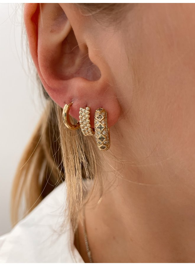 BOLTED HOOP GOLD