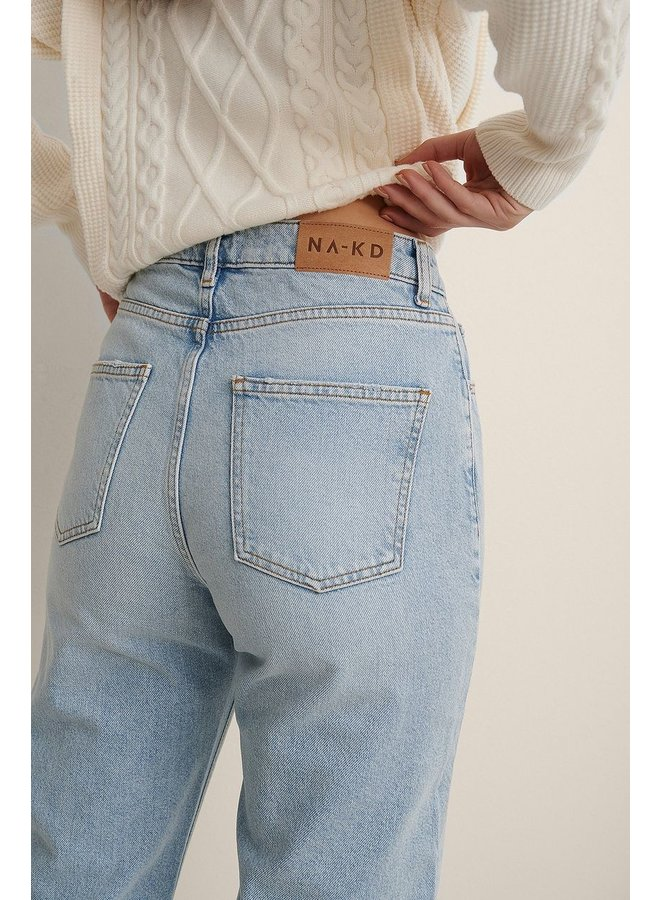 NA-KD - RELAXED FULL LENGTH JEANS