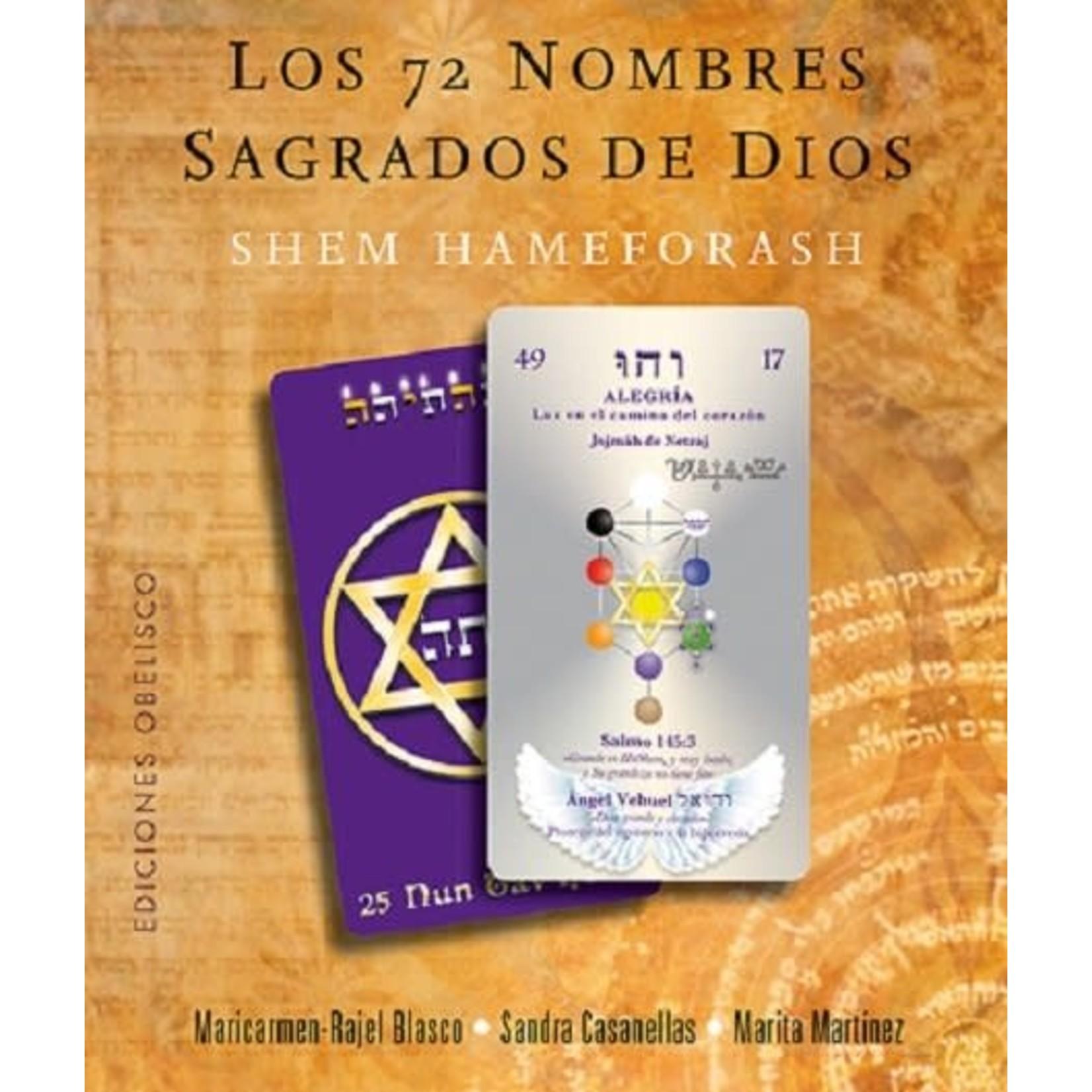 72 Nombres sagrados De Dios libro+73 cartas