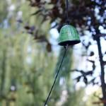 Campana Feng Shui Furin Iwachu Verde 4,5 cm