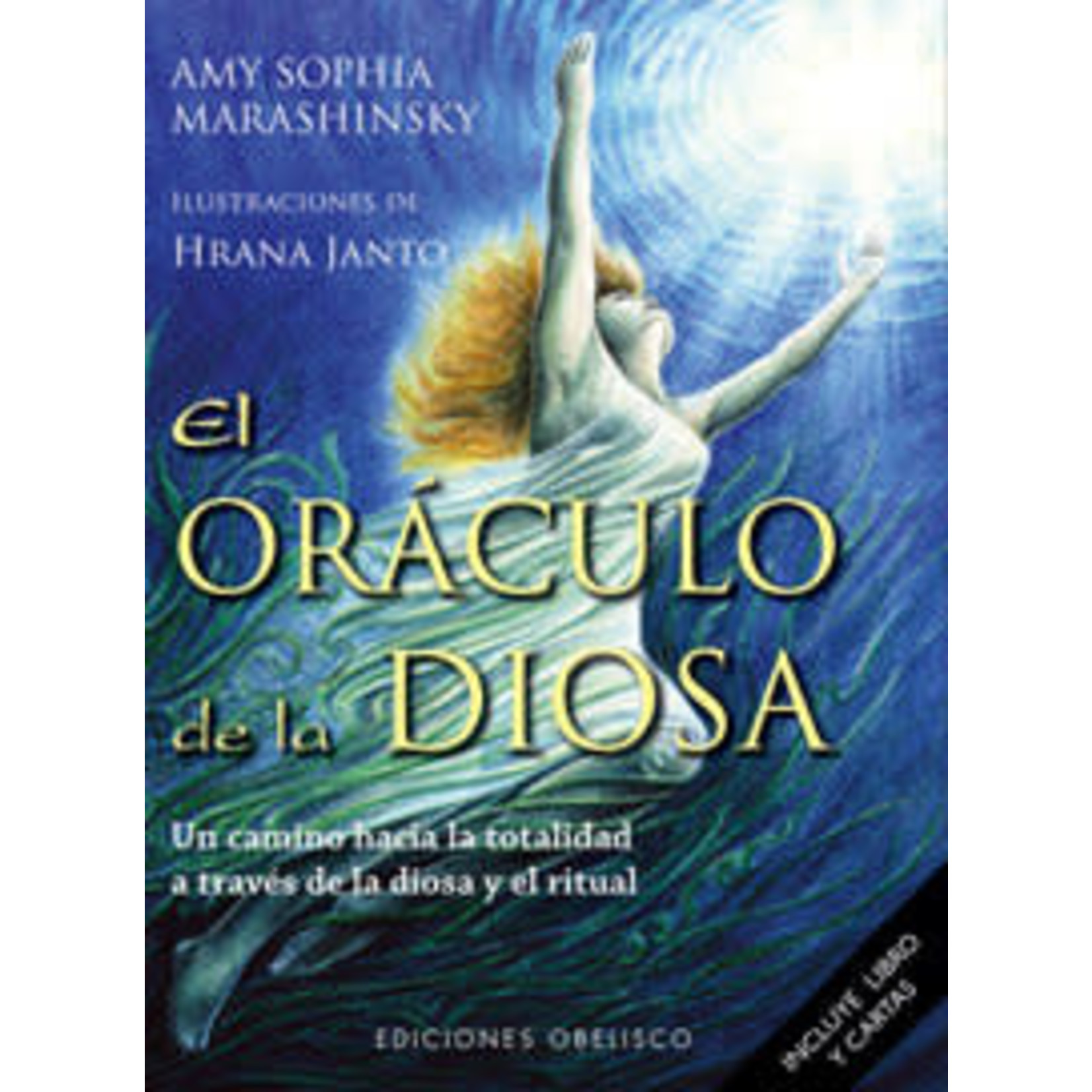 ORACULO DE LA DIOSA + 52 CARTAS