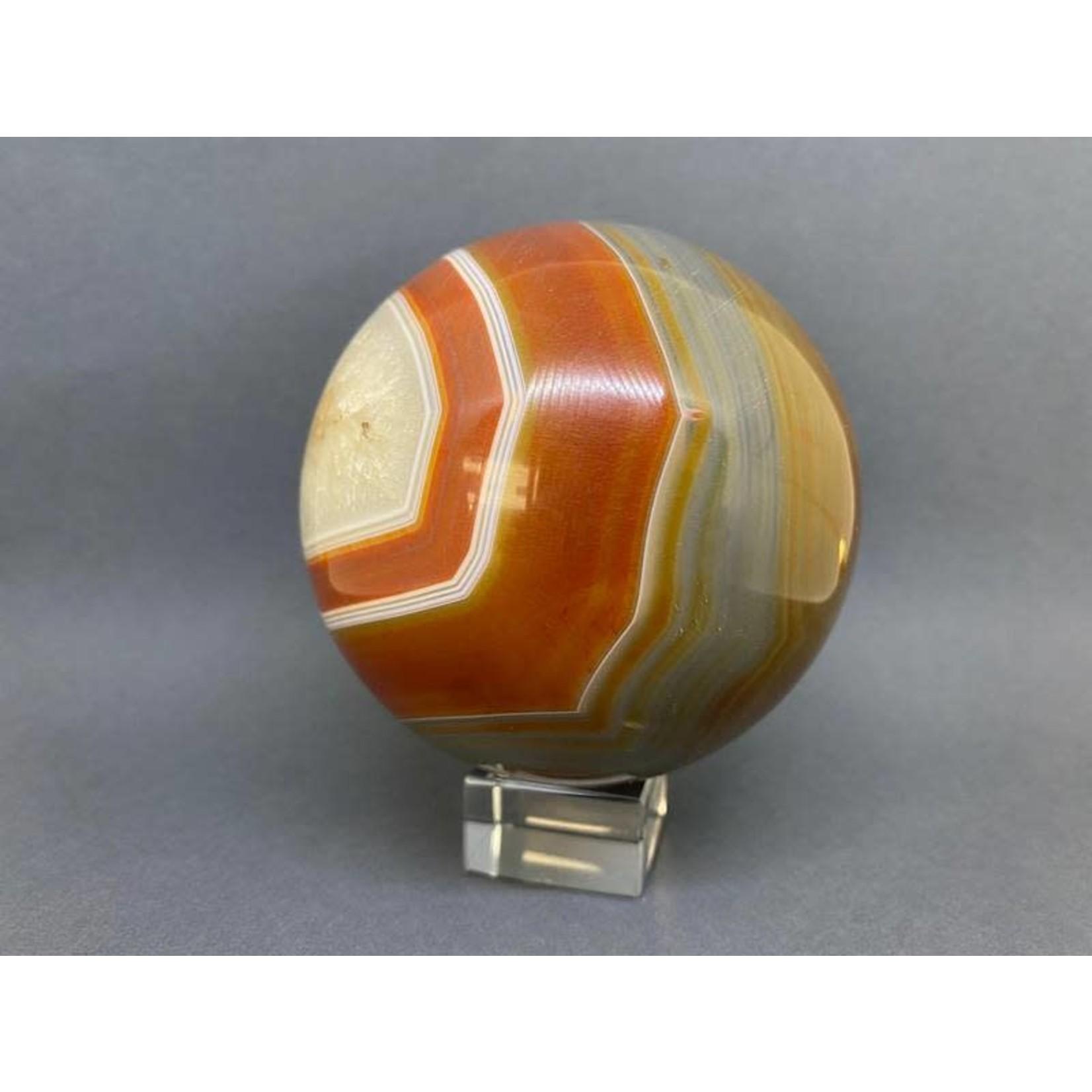 Esfera Ágata naranja