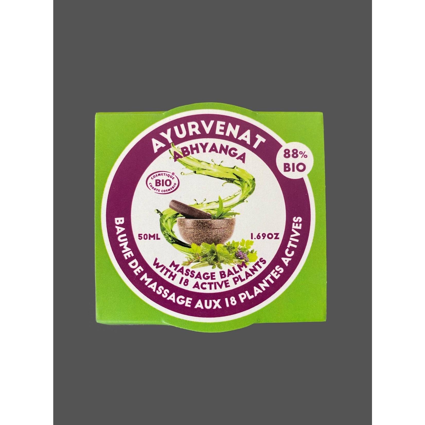 bálsamo de masaje ayurvédico Abhyanga -18 plantas 50 ml