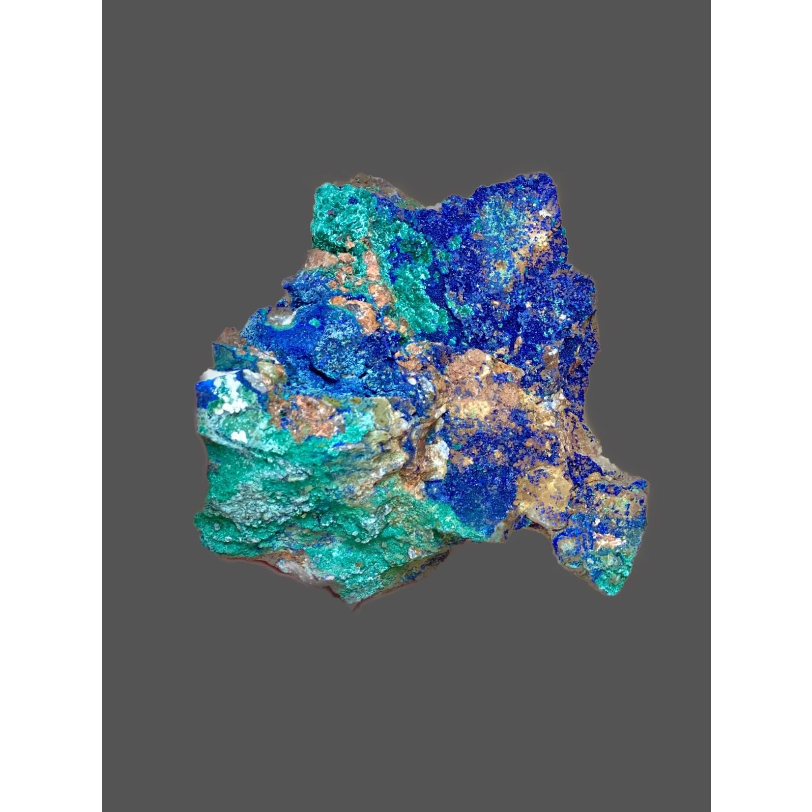 Azurita-malaquita bruto