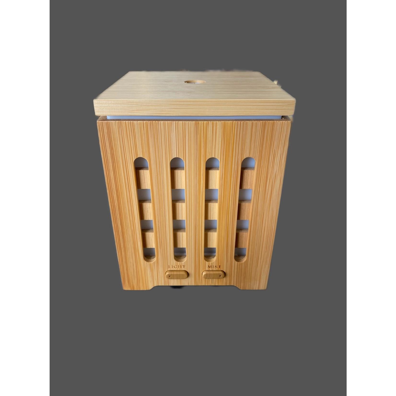 Difusor de aromas ultrasónico Bambú