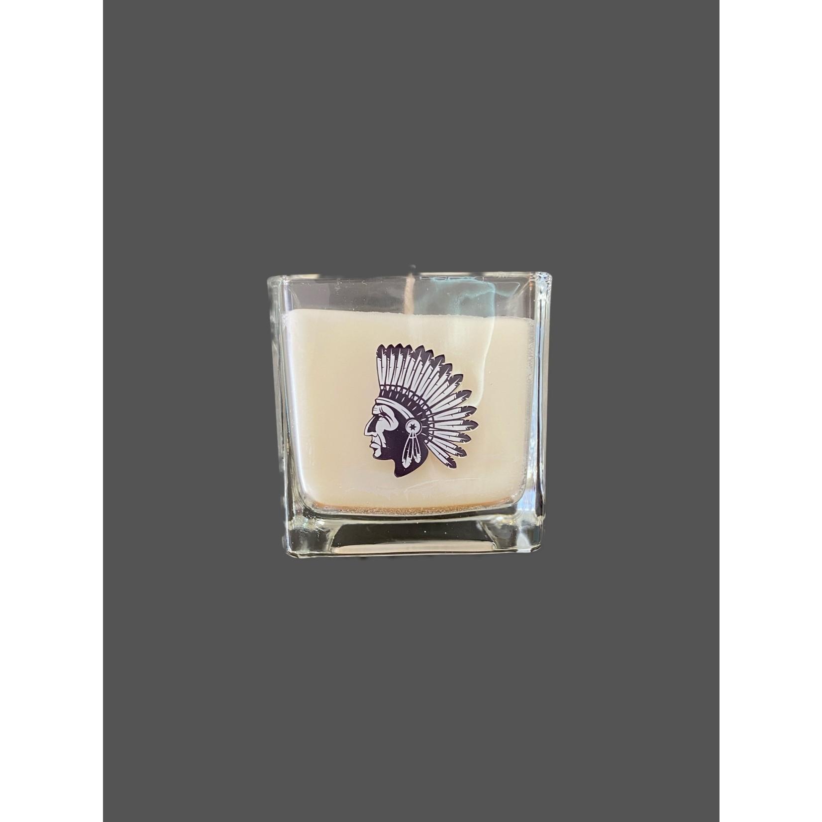 Vela perfumada de cera de colza Salvia blanca