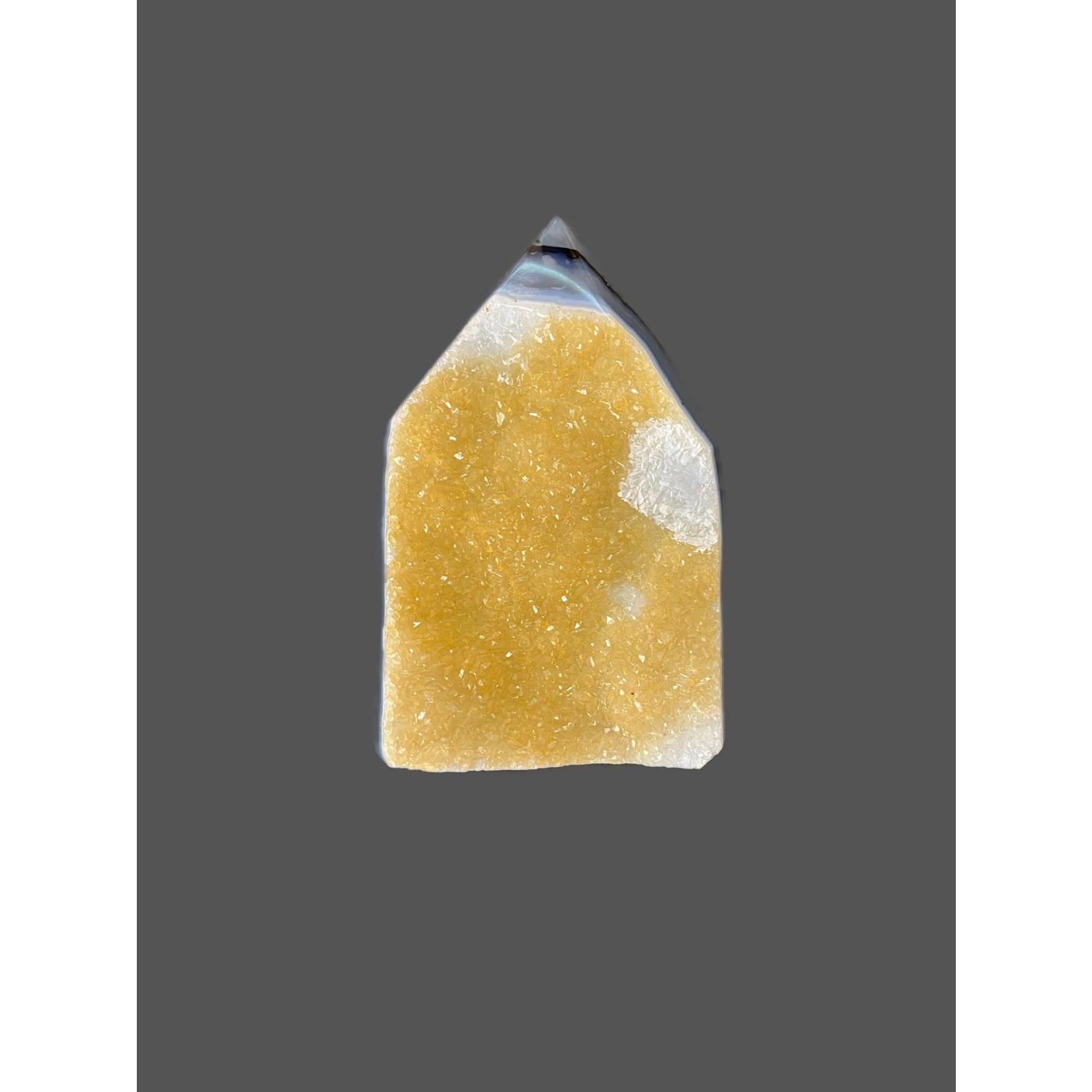 Punta Ágata cristalizada 395grs