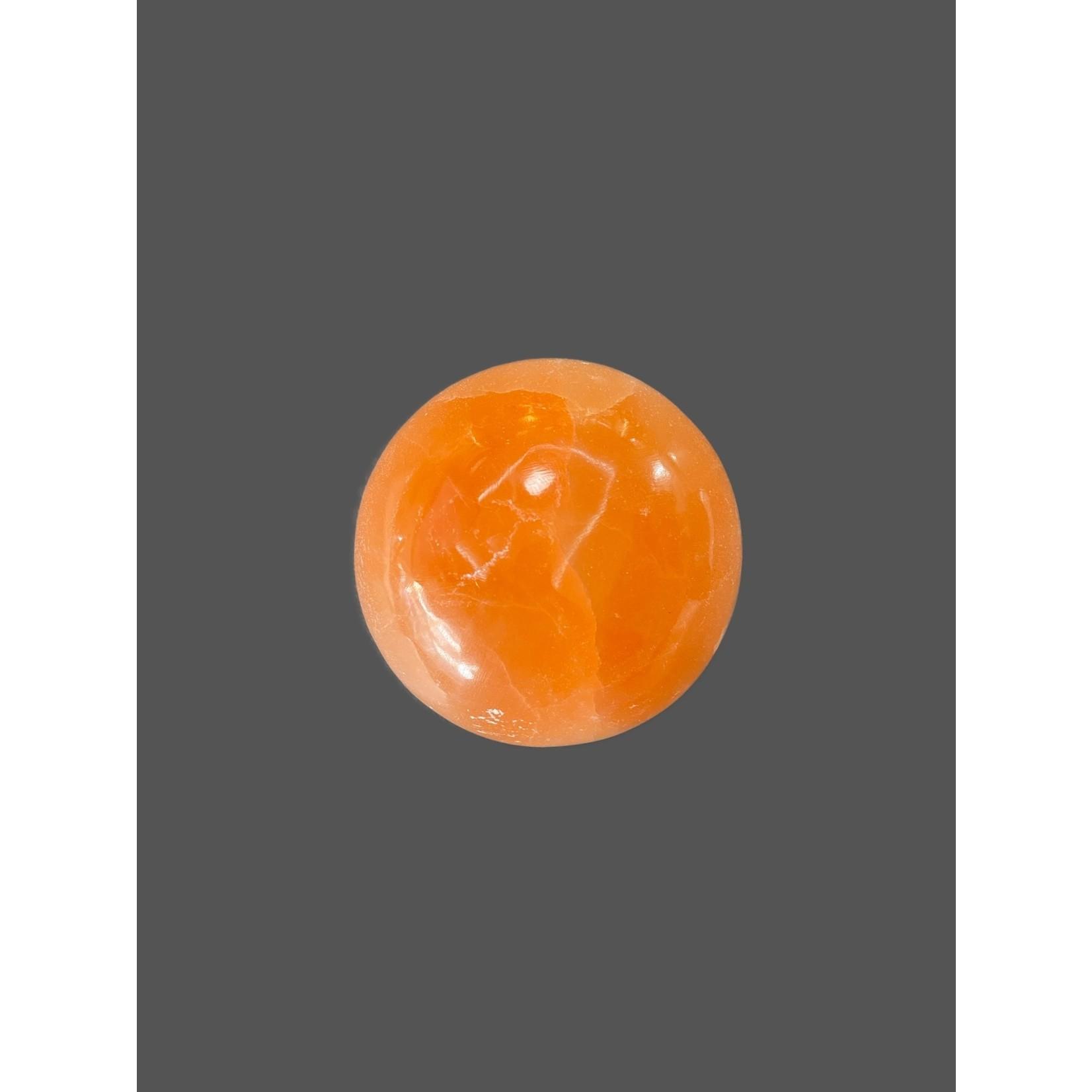 Esfera Selenita naranja