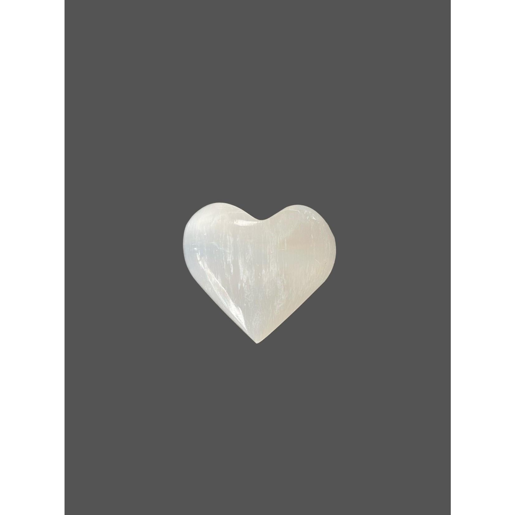 Corazón de Selenita Pequeño
