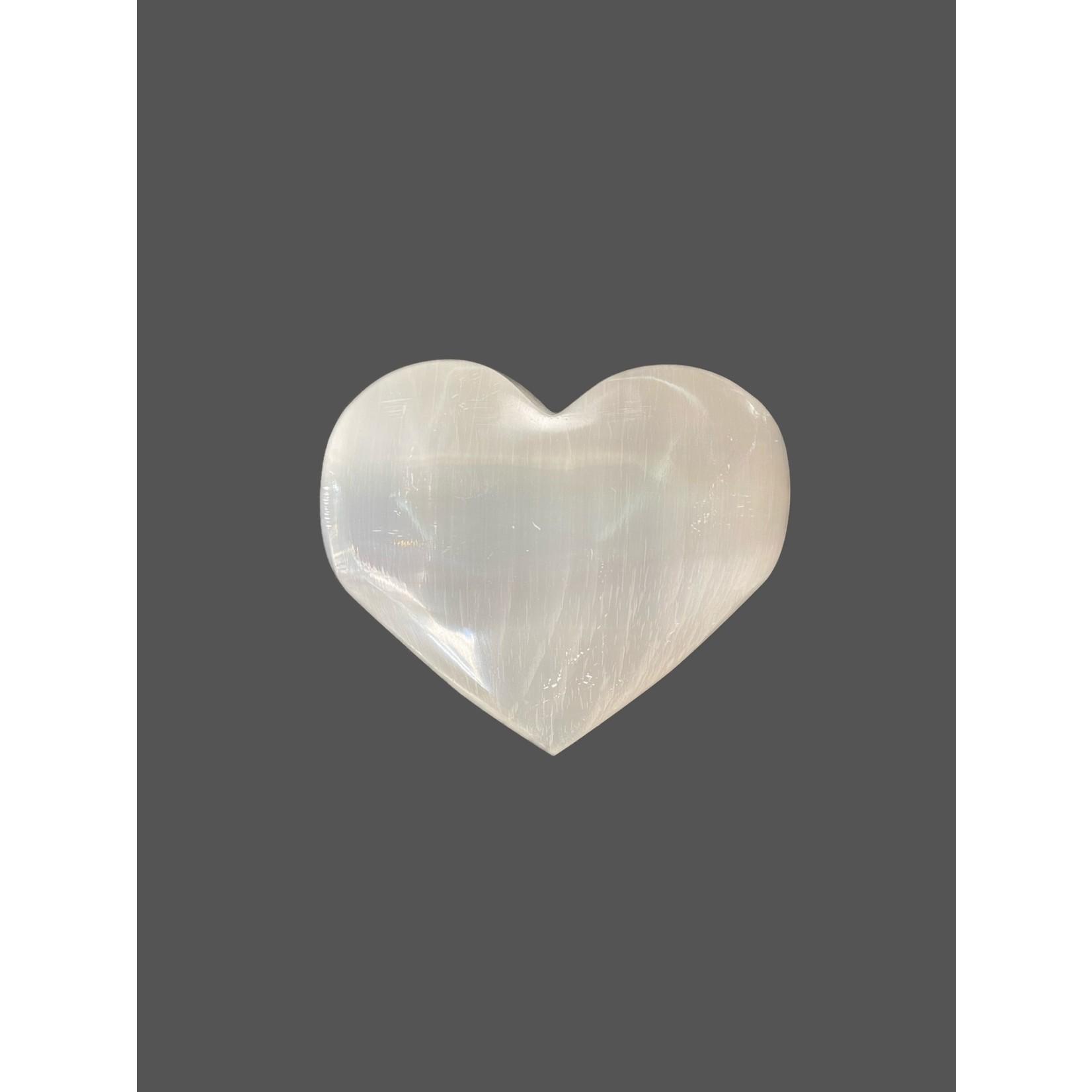 Corazón de Selenita grande