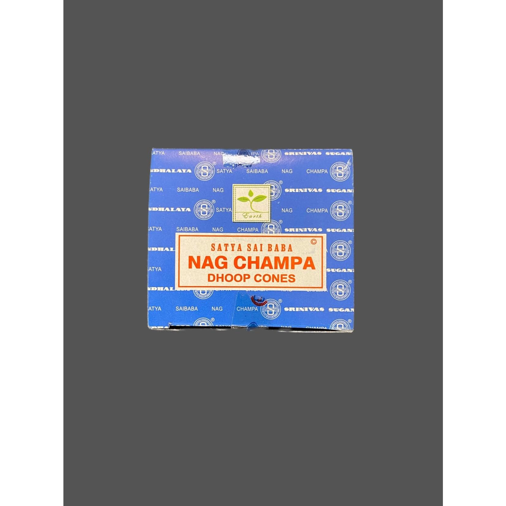 Incienso Nag champa conos satya