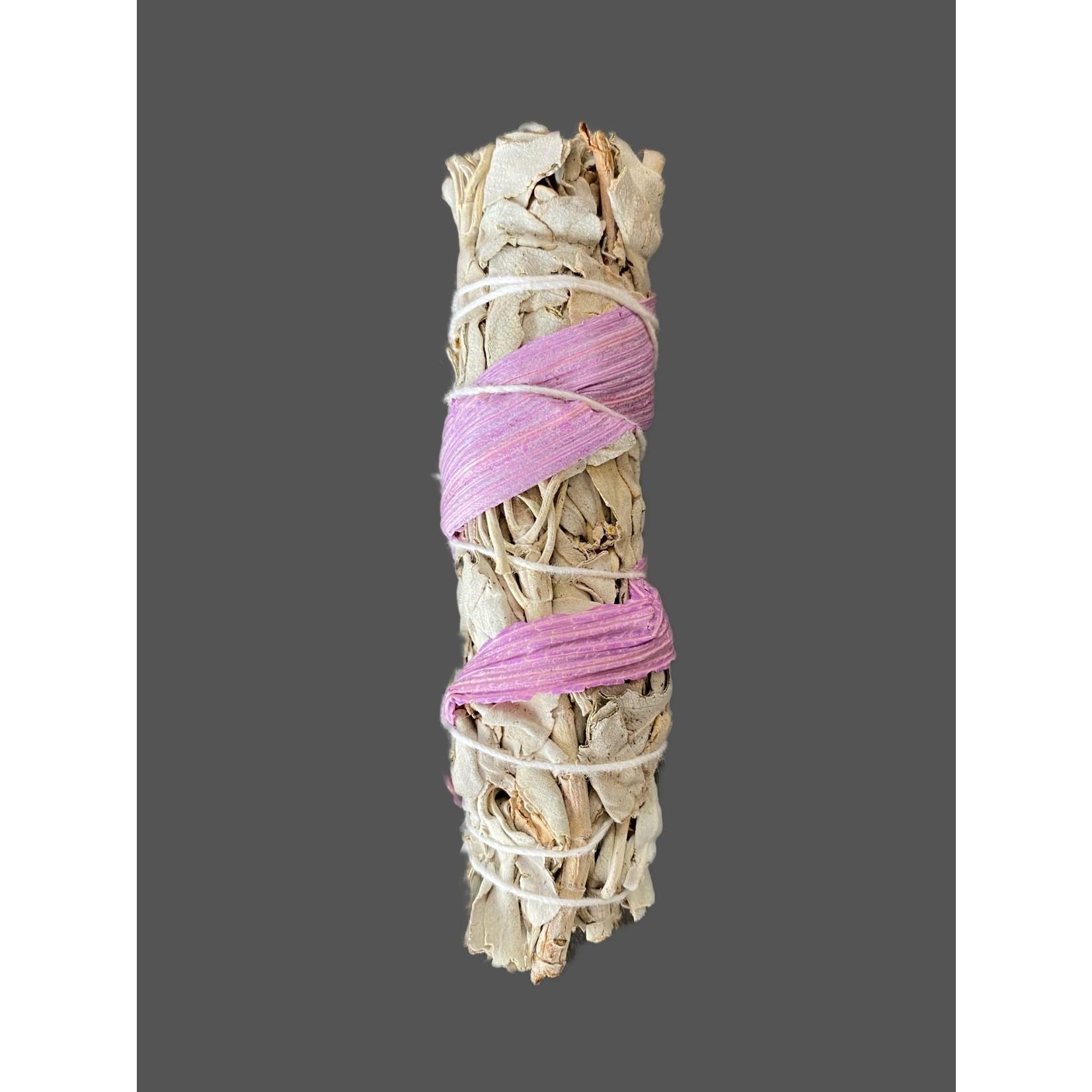 Rama Natural Salvia-maiz rosa