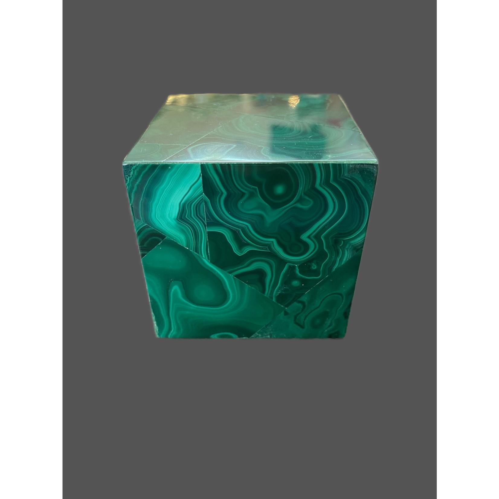 Cubo malaquita 6x6CM