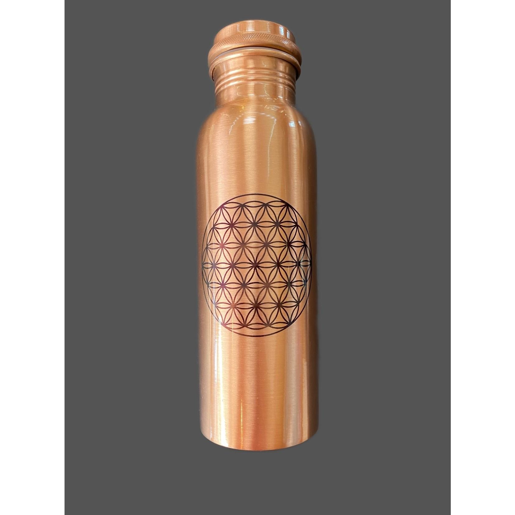 Botella de cobre