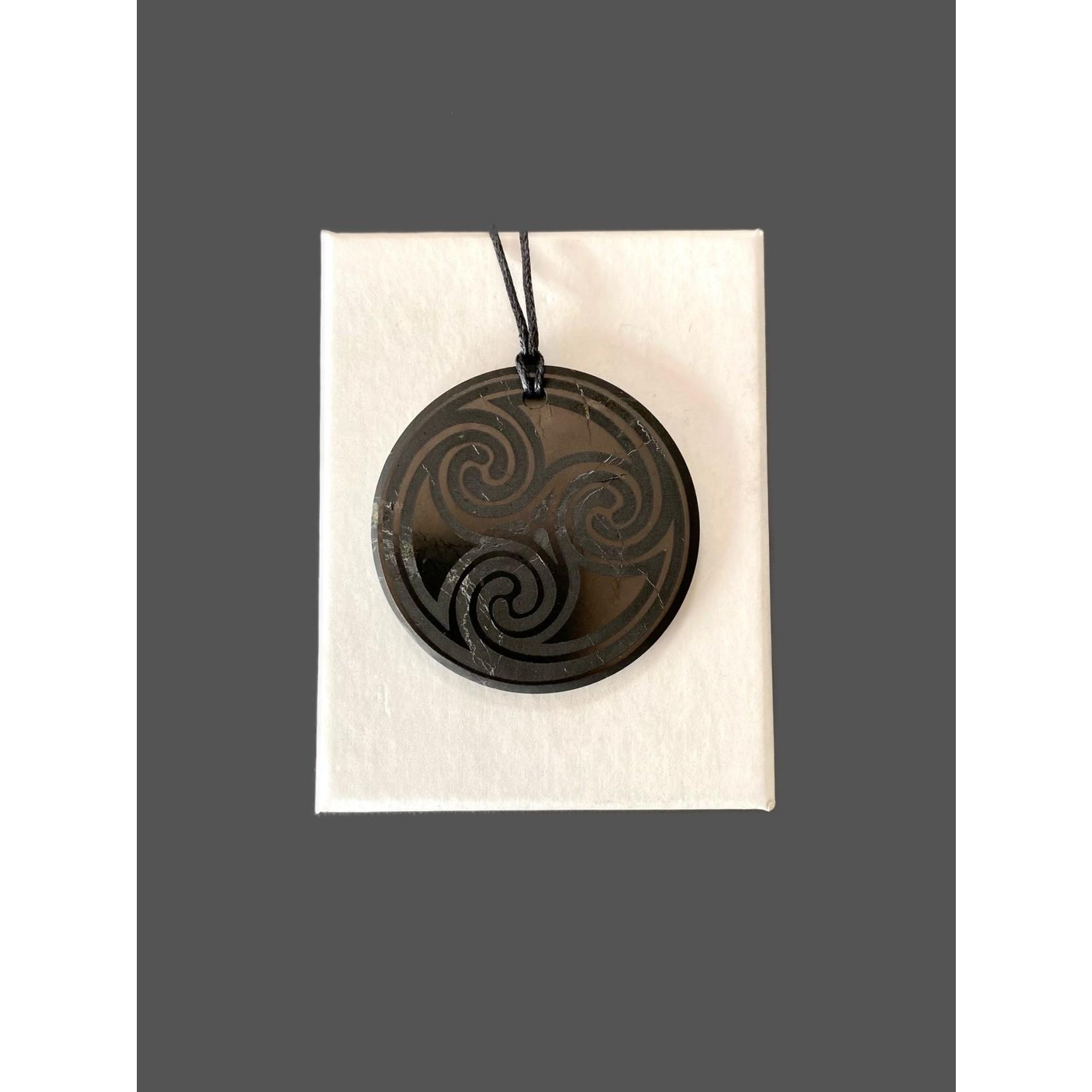 Colgante Shungit espiral 5cm