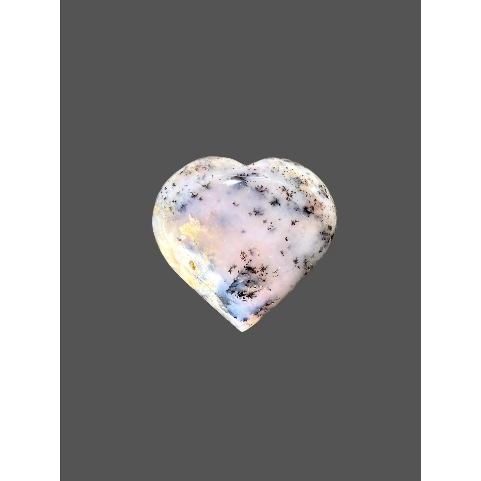 Corazón Ópalo Rosa