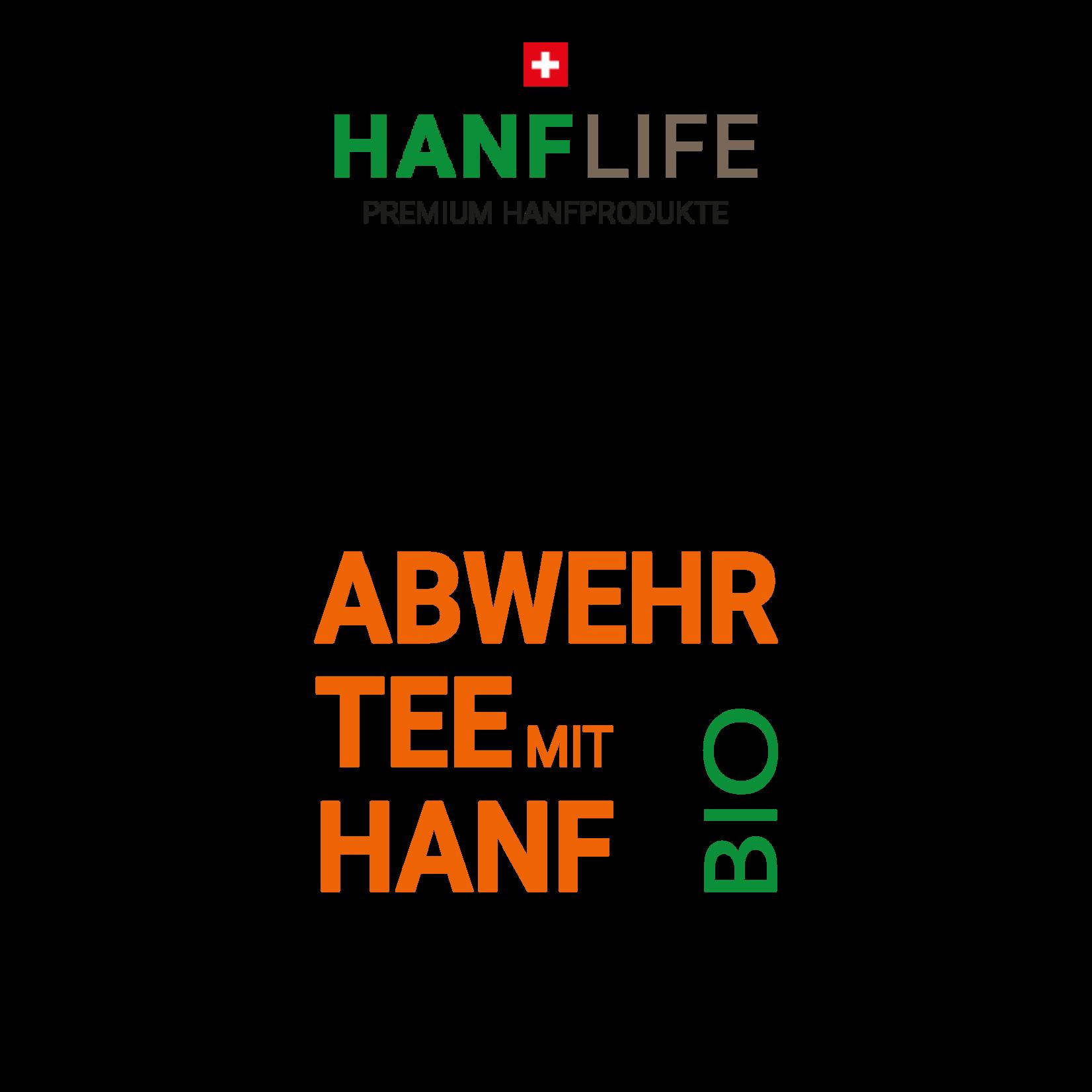 hanflife Abwehr Tee mit Hanf BIO