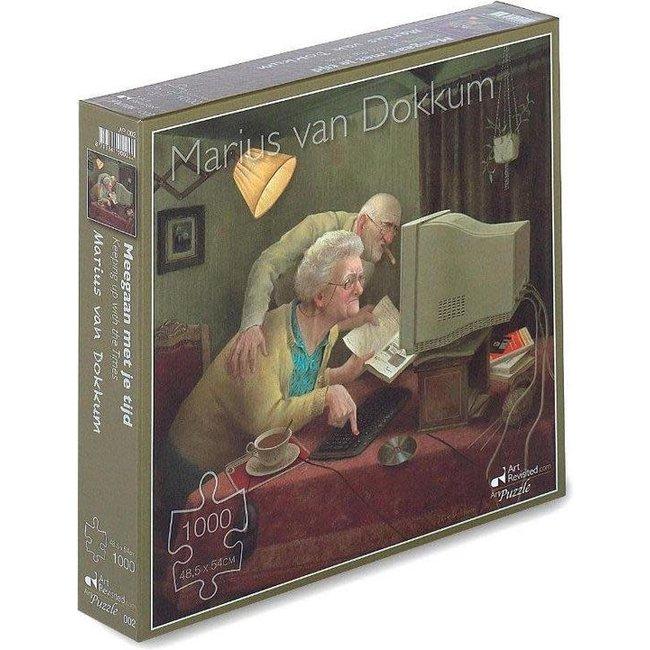 Marius van Dokkum - meegaan met je tijd 1000st.