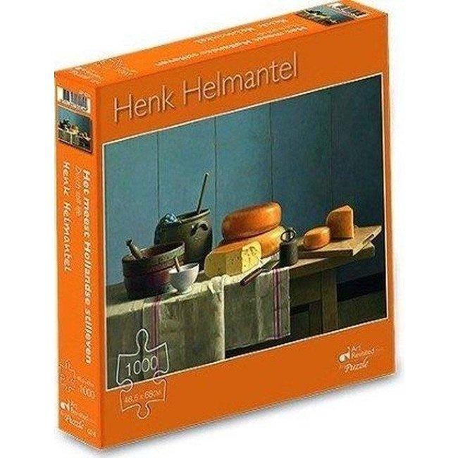 Marius van Dokkum Henk Helmantel - het meest hollandse stilleven 1000st