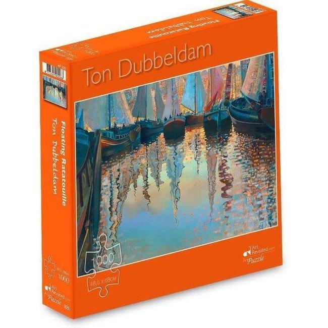 Marius van Dokkum Ton Dubbeldam - floating ratatouille 1000st.