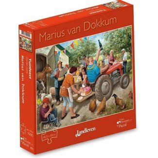 Marius van Dokkum Marius van Dokkum - tuinfeest 1000st.