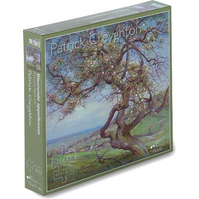 Marius van Dokkum Patrick Creyghton - Bloeiende appelboom 1000st.