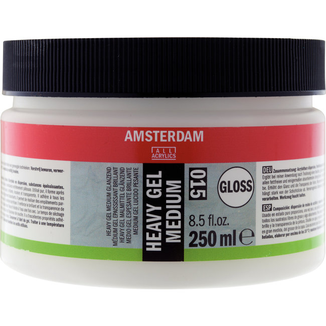 Amsterdam Heavy Gel Medium Glanzend 250 ml