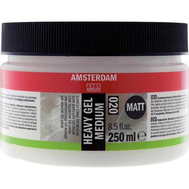 Amsterdam Heavy Gel Medium Mat 250 ml