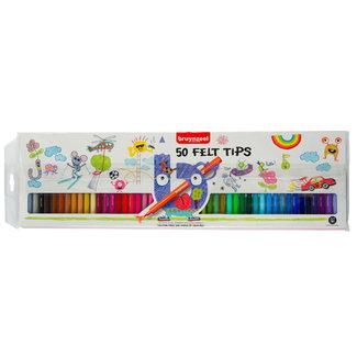 Bruynzeel Bruynzeel Kids Viltstiften Etui 50