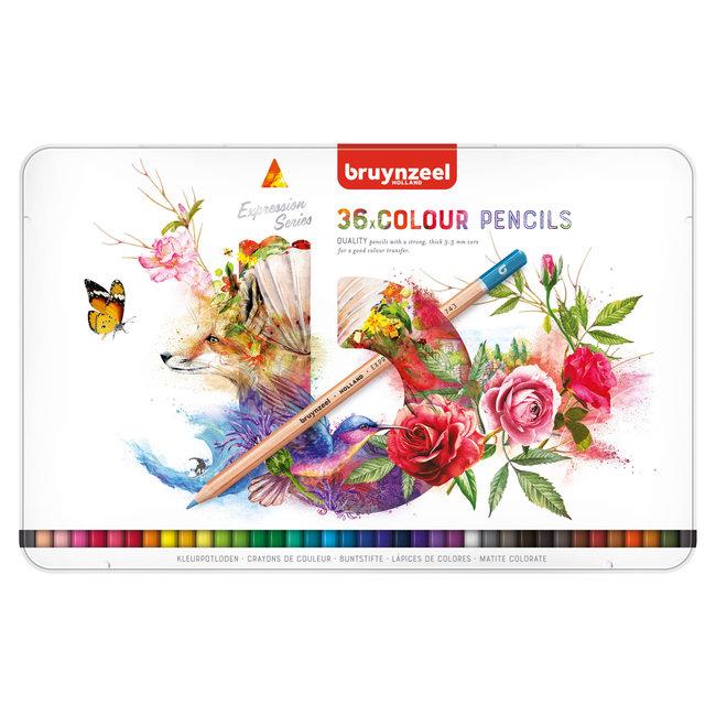 Bruynzeel Expression Kleurpotloden Blik 36
