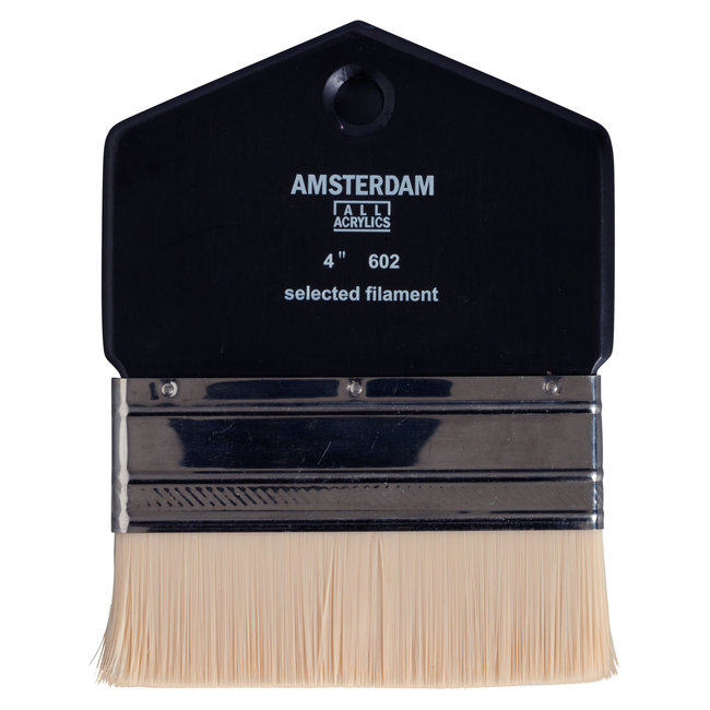 Amsterdam Paddle penseel Serie 602 - 4 inch - Synthetisch Haar