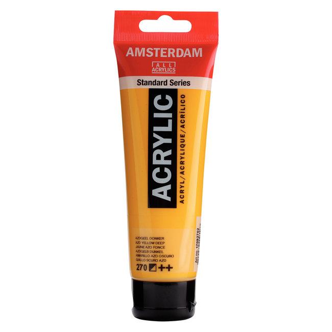 Amsterdam Acrylverf Tube 120 ml Azogeel Donker 270