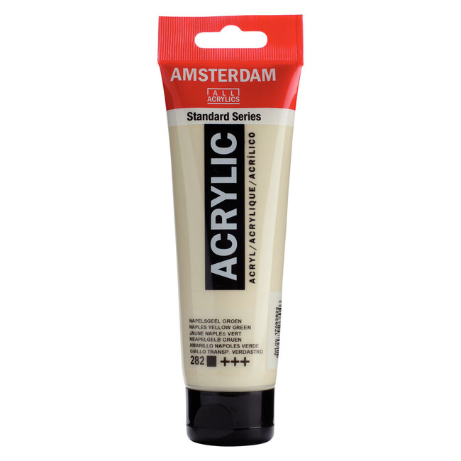 Amsterdam Acrylverf Tube 120 ml Napelsgeel Groen 282