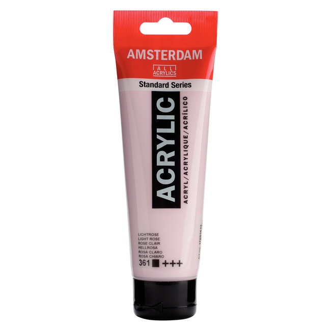Amsterdam Acrylverf Tube 120 ml Lichtrose 361