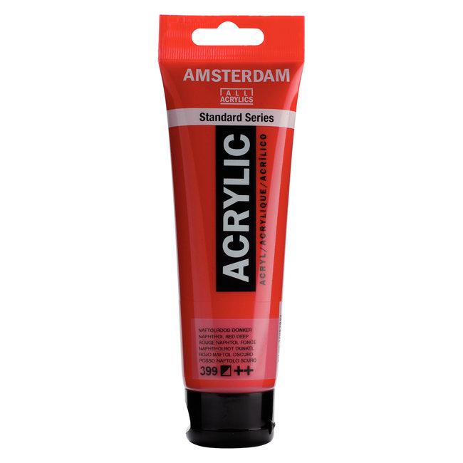 Amsterdam Acrylverf Tube 120 ml Naftolrood Donker 399