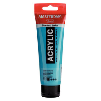 Amsterdam Amsterdam Acrylverf Tube 120 ml Turkooisblauw 522