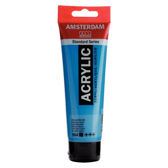 Amsterdam Acrylverf Tube 120 ml Briljantblauw 564